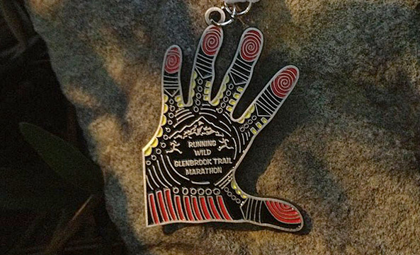Glenbrook Finisher's Medal